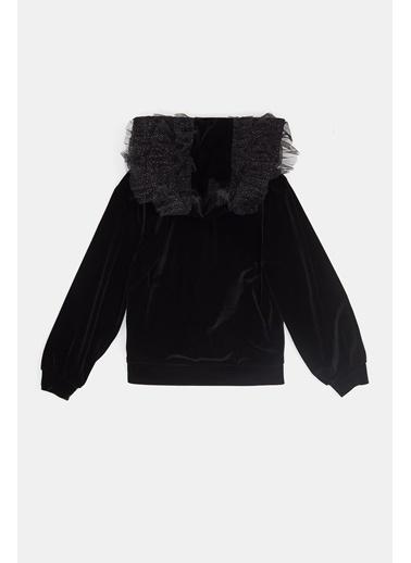 Tarsiani Kız Çocuk Siyah Ceket 20Fwts0T306 Siyah